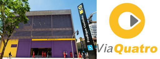 Estação Fradique Coutinho - Linha 4 Amarela