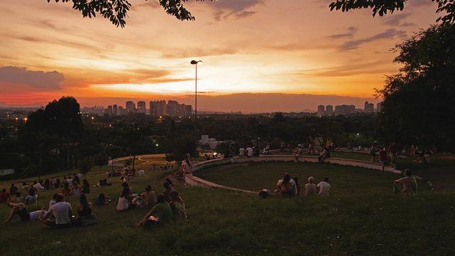 Praça Pôr do Sol em Pinheiros
