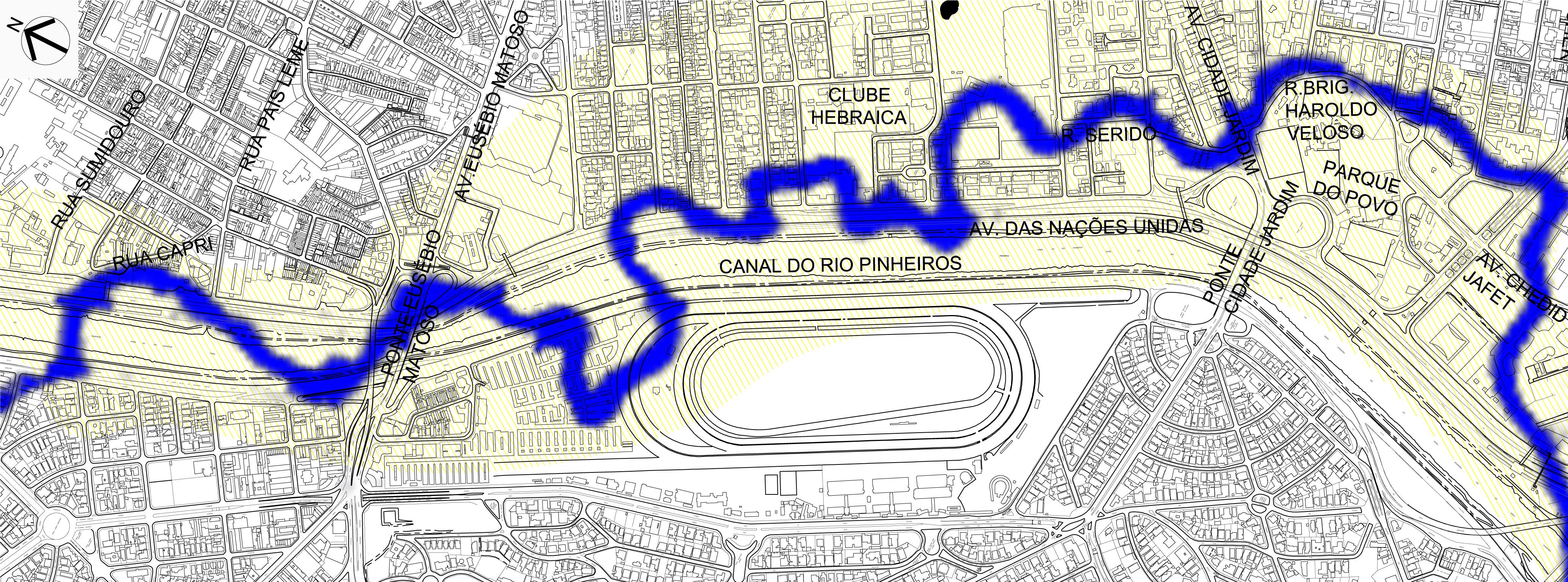 Rio Pinheiros Antes e Depois