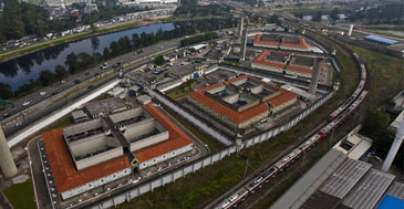 Centro de Detenção Provisória (CDP) em Pinheiros